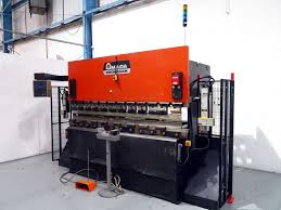 amada promecam its 8025 80 ton x 2500mm 2 axis hydraulic upstroke