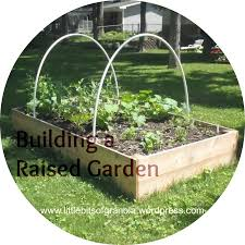 Building A Raised Vegetable Garden by Building A Raised Garden Bed Little Bits Of Granola