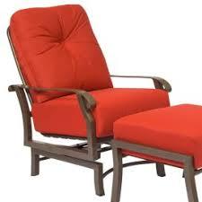 Woodard Cortland Cushion Patio Furniture Woodard Cortland Cushion Swivel Rocking Lounge Chair Hayneedle