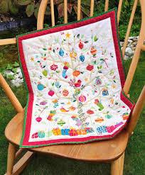 makower cool yule 1265 q tree advent calendar cotton fabric joy