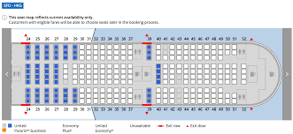 United International Route Map by Where To Sit When Flying United U0027s 777 300er Economy