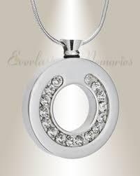urn pendants circle memorial jewelry cremation jewelry urn jewelry