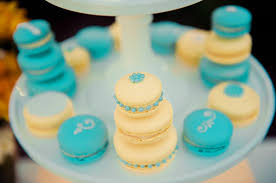 chic vintage summer wedding yellow and turquoise