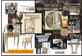 home design concept board art deco bathroom concept autograph interior design loversiq