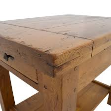 crate and barrel farmhouse table 86 off crate and barrel crate barrel french farm end table tables