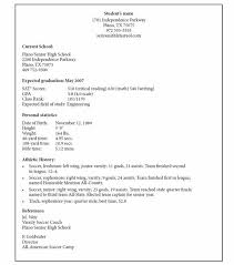 Soccer Player Resume Hockey Resume Template 47 Images Essays On Marriage