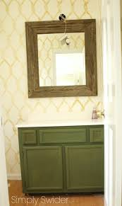 Paint Laminate Vanity Make Laminate Cabinets Look High End With Milk Paint Simply Swider