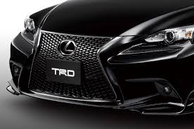 2014 lexus coupe white japanese spec 2014 lexus is f sport spiced up with trd parts