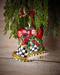 harlequin present ornament by mackenzie childs at
