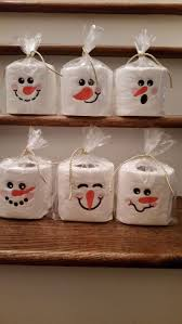 snowman toilet paper christmas winter pinterest toilet