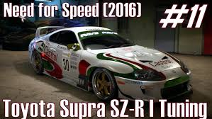 toyota supra 2016 need for speed 2016 toyota supra sz r i tuning part 11