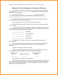 10 corporate meeting minutes template word farmer resume
