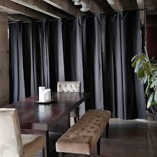 diy room divider curtain rod espresso panel room divider diy room