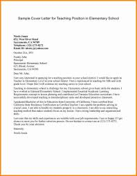 ideas collection cover letter for ict teaching job about sample