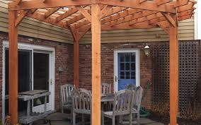 patio u0026 pergola architecture awesome pergola kits home depot