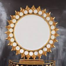 Tozai Home Decor Tozai Home Sun Mirror On Pedestal Tozaihome Interiordesign