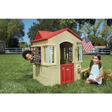little tikes 637902m cape cottage playhouse tan ebay