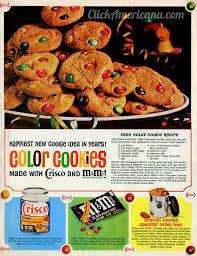 colorful m u0026m cookie recipes 1963 click americana
