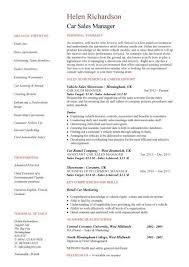 car salesman resume car sales manager resume template resume help