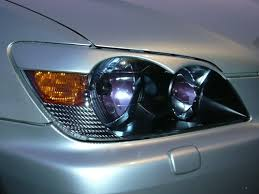 lexus altezza is200 headlight eyebrows eyelids for 1998 2005 lexus altezza is200 is300