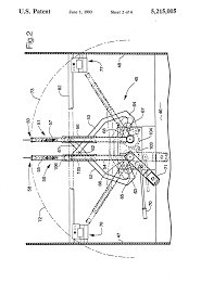 patent us5215005 telescopic twine arm for round baler twine