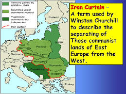 Who Coined The Phrase The Iron Curtain The Cold War Struggle Between The World U0027s Superpowers Ppt Download