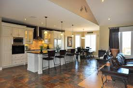 exciting flooring for living room and kitchen bedroom ideas