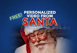 a free personalized video from santa claus app u2013 free video from