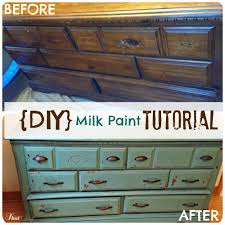 how to milk paint furniture from drab to fab with a coat of paint