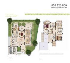 floor plans mudon villas dubailand