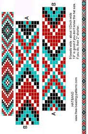bracelet beads pattern images Free printable loom beading patterns loom beading bracelet jpg