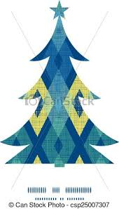 vector clipart of vector colorful fabric ikat diamond christmas