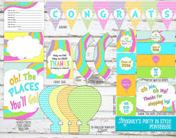 oh the places you ll go graduation party instant oh the places you ll go graduation