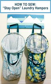 stylish laundry hampers emmaline bags sewing patterns and purse supplies how to make