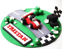 car cake race car cake topper etsy