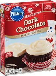 pillsbury moist supreme dark chocolate cake mix hy vee aisles