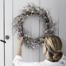 Christmas Decorations Buy Uk by The 25 Best Pre Lit Christmas Wreaths Ideas On Pinterest Unique