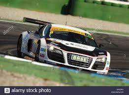 audi race car audi r8 gt lms race car in action at the hockenheimring race track