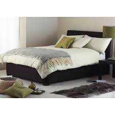 cheap hyder living paris ottoman black suede bed frame for sale at
