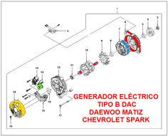 diagrama eléctrico de luz de salón matiz y spark mantenimiento