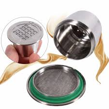 kitchen tools and gadgets coffee capsules stainless steel refillable reusable coffee capsule