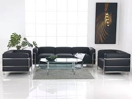 sofa lc3 le corbusier lc3 armchair in black leather le corbusier grande