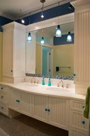 kids bathroom hollywood bath suite white beadboard inset