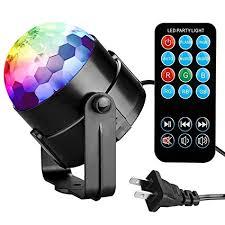 sound activated dj lights amazon com party lights disco ball tabiger disco lights dj light
