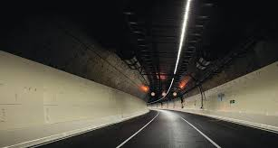 tunnel light at the end of the waterview tunnel greater auckland