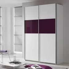 Schlafzimmer Quadra Schwebetürenschrank Quadra In Weiß Glas Lila 136cm Ebay