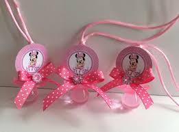 minnie mouse baby shower favors minnie mouse baby shower pacifiers minnie mouse baby shower