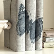 butterfly book decor decorative books with butterfly custom