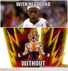 Lebron Headband Meme - why lebron james does not need a headband daily snark