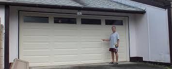 Dalton Overhead Doors A Wayne Dalton Model 9100 Garage Door Offers Safety And